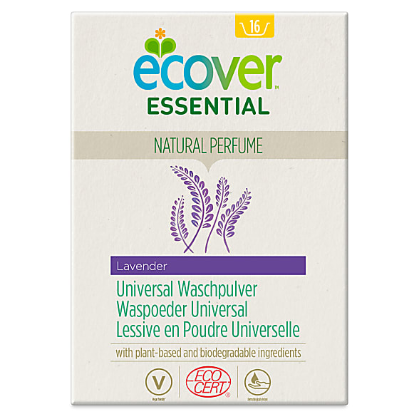 Ecover Essential Lessive en Poudre Universelle Lavende (1.2kg)