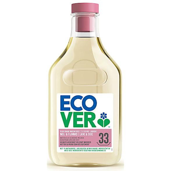 Ecover Lessive Laine & Linge Délicat 1.5L (33 lavages)